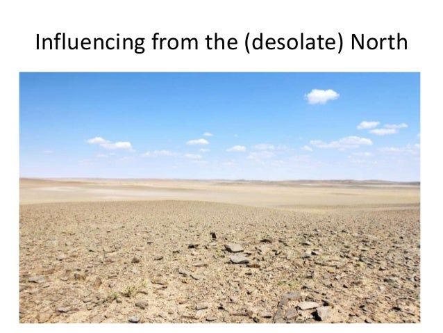 Influencing from the (desolate) North