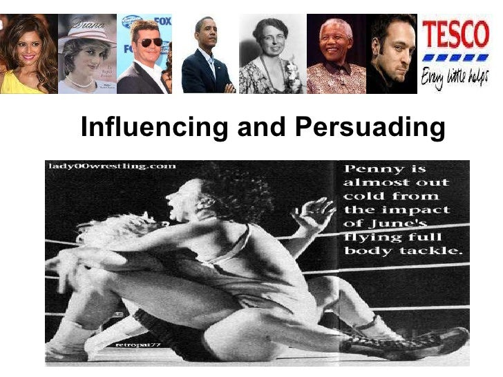 Influencing and Persuading