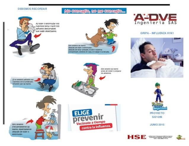 DEBEMOS RECORDAR . GRIPA – INFLUENZA H1N1 PROYECTO 5221209 JUNIO 2015