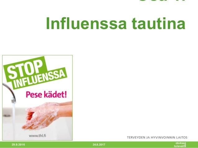 Influenssa Tarttuminen