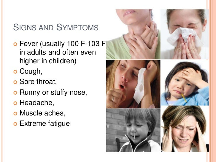 types and symptoms of influenza virus The most common types of influenza virus are a and b influenza a is the one doctors usually assume the diagnosis is flu when you have symptoms of influenza in.