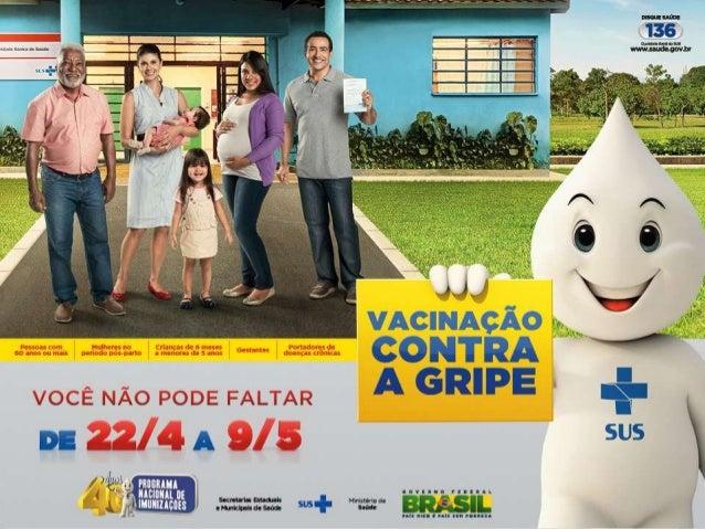 Brasília, abril de 2014 Campanha nacional de vacinação contra a influenza
