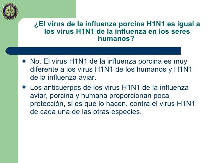 Conozcamos sobre la Influenza A H1N1