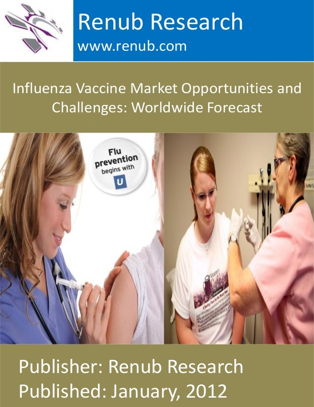 Influenza Vaccine Market Opportunities and Challenges: Worldwide Forecast Renub Research www.renub.com Publisher: Renub Re...