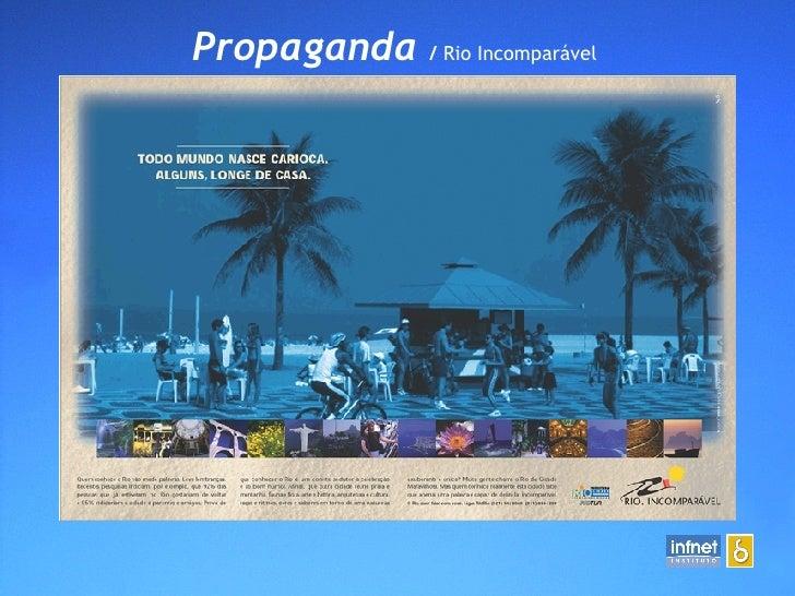 Propaganda  /  Rio Incomparável