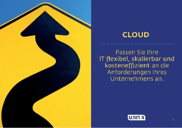 In fünf Schritten in die Cloud Slide 2