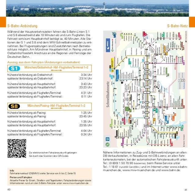 Information Der Flughafen München Von A Z