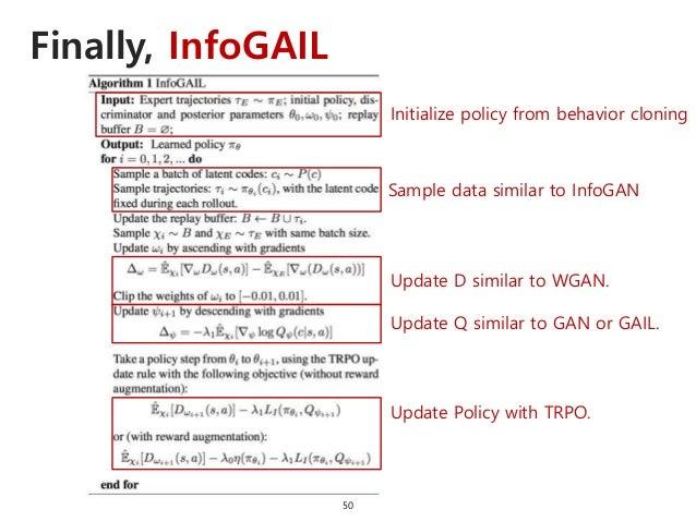 InfoGAIL