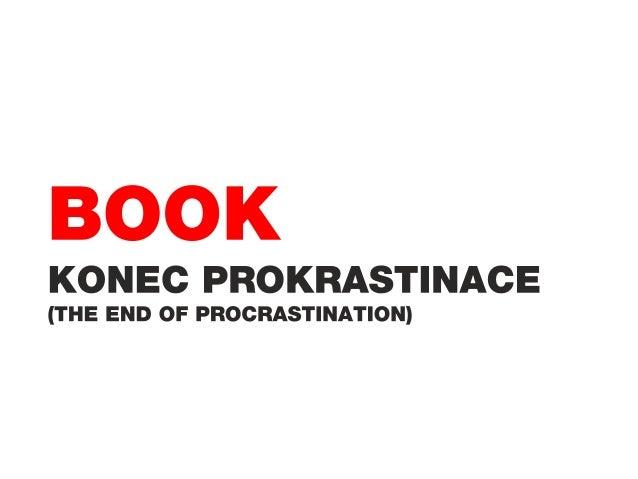 Případová studie - kniha Konec prokrastinace
