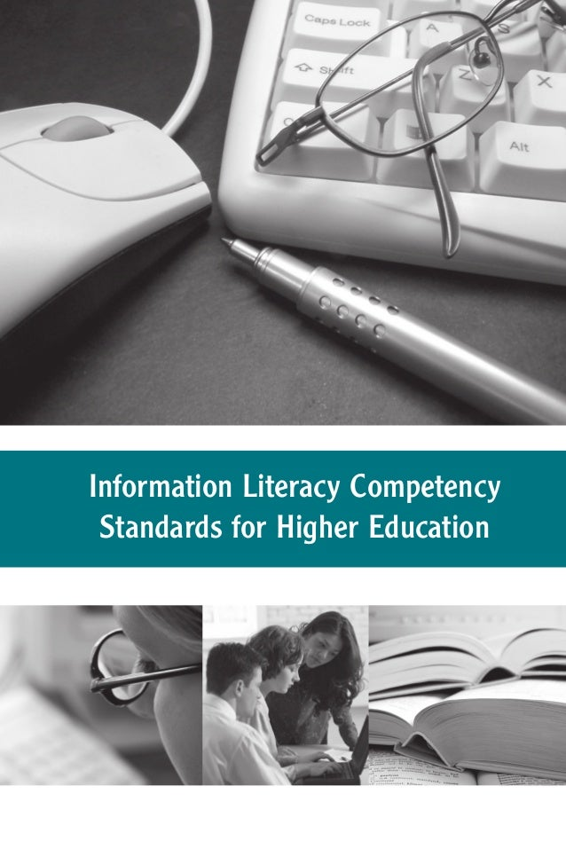 Information Literacy Competency Standards for Higher Education