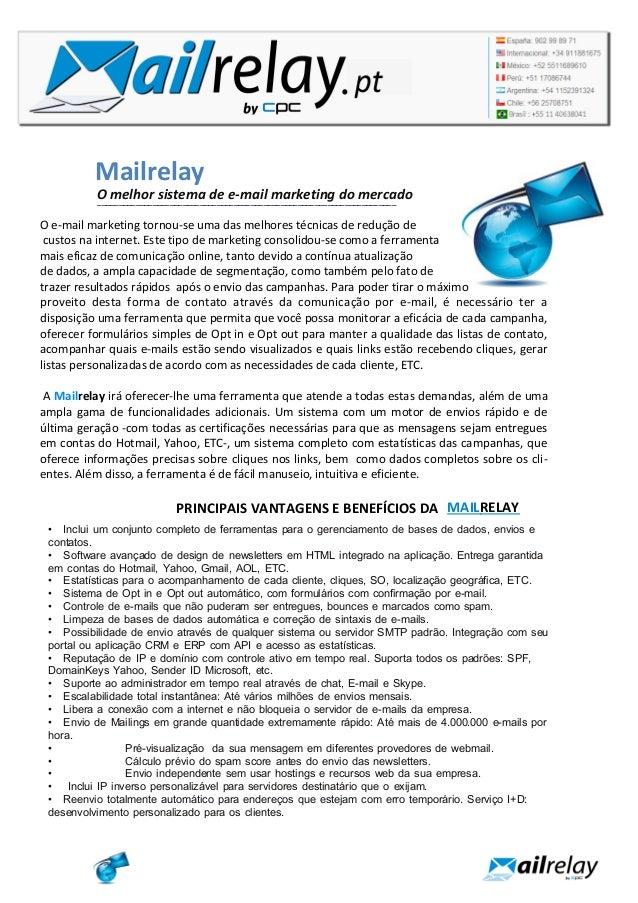 Mailrelay O melhor sistema de e-mail marketing do mercado_________________________________________________________________...