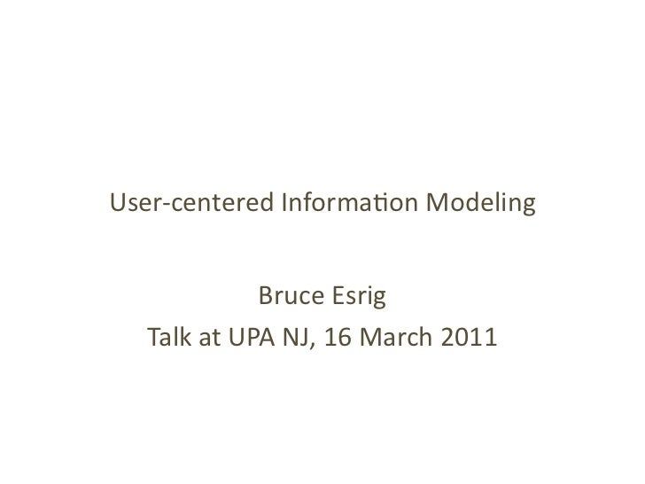 User‐centered