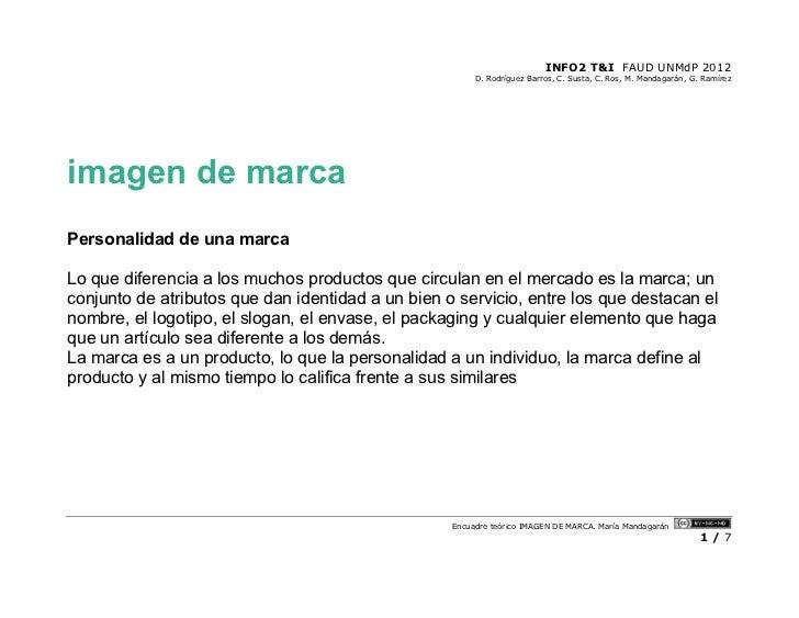 INFO2 T&I FAUD UNMdP 2012                                                        D. Rodríguez Barros, C. Susta, C. Ros, M....