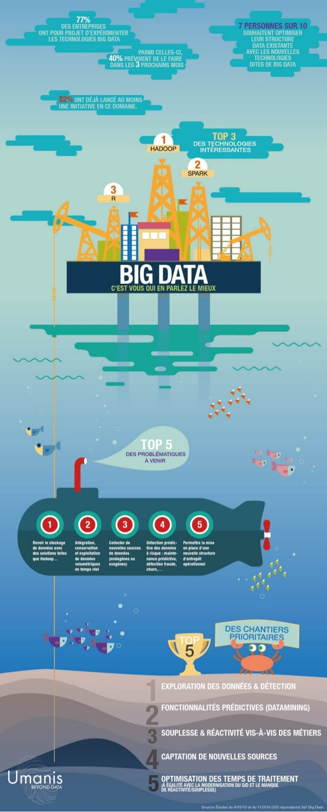 INFOGRAPHIE BIG DATA - ETUDE 2016 GRATUIT (by Umanis)