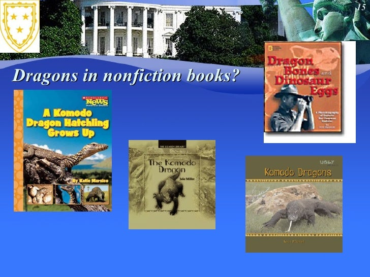 Dragons in nonfiction books?