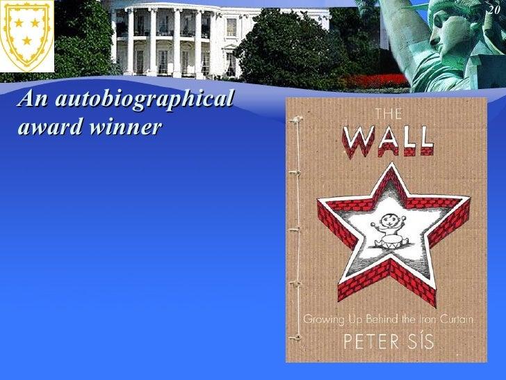 An autobiographical  award winner