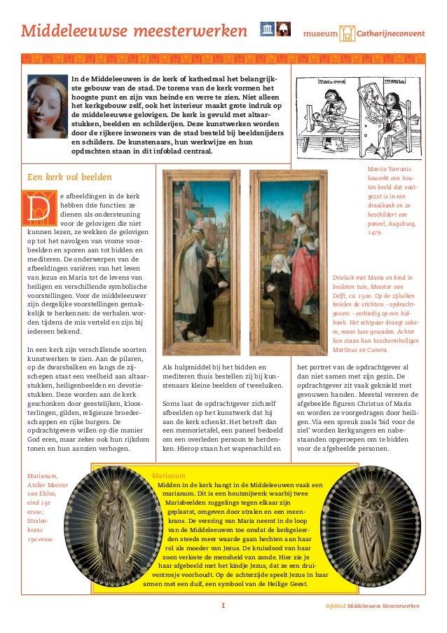 Middeleeuwse meesterwerken                  In de Middeleeuwen is de kerk of kathedraal het belangrijk-                  s...