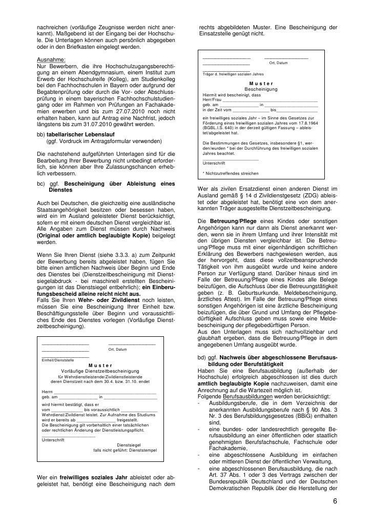 6 nachreichen - Testdaf Schriftlicher Ausdruck Beispiel