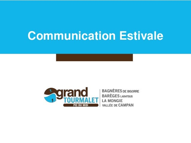 Communication Estivale