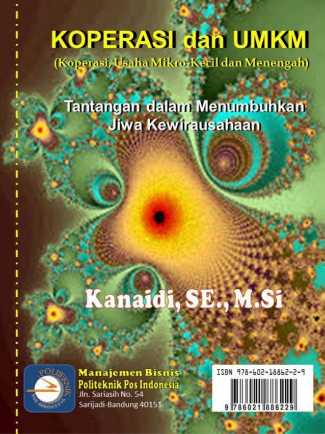 "Buku ""KOPERASI dan USAHA MIKRO-KECIL DAN MENENGAH (UMKM ..."