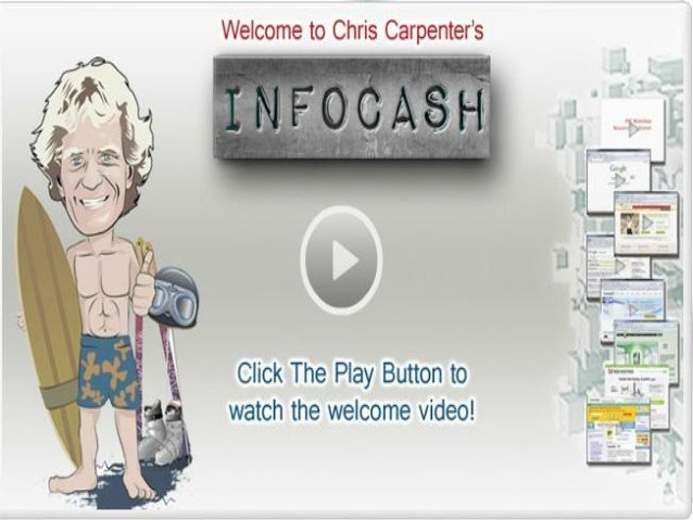 Chris Will Teaches You How To MakeREAL MONEY ThroughInfo Cash System!