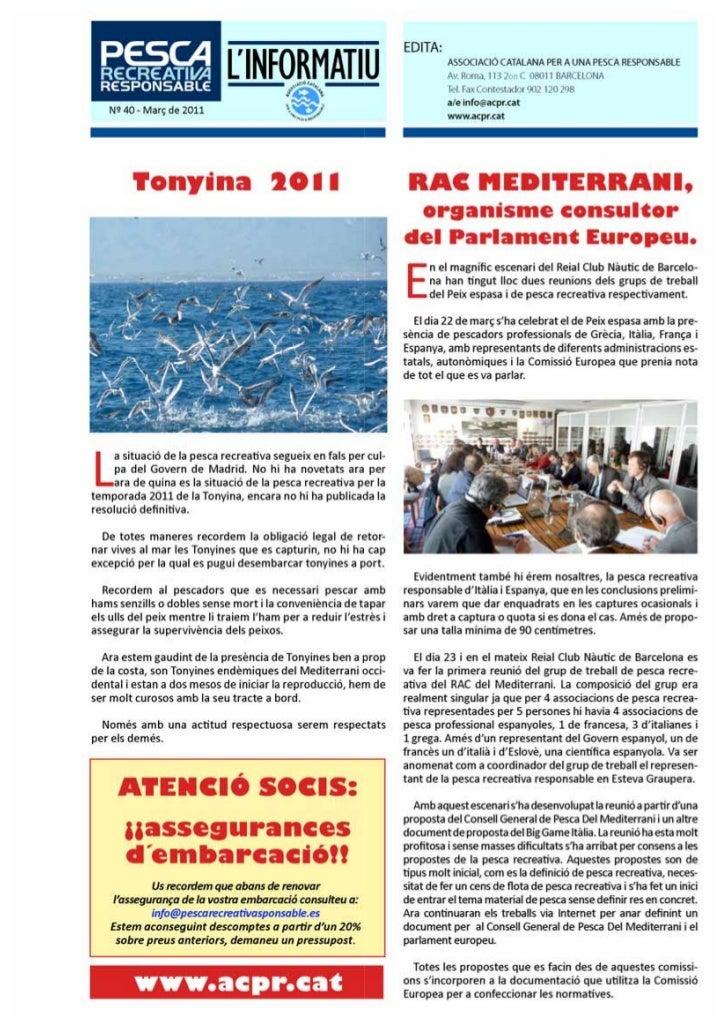 Info 40 acpr
