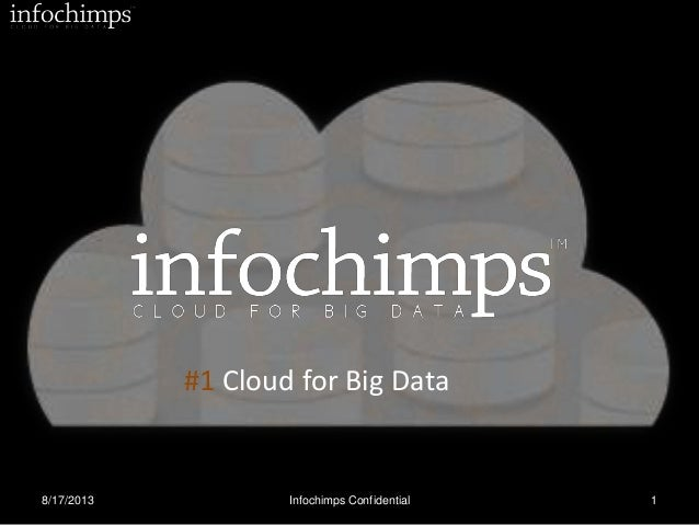 8/17/2013 Infochimps Confidential 1 + = #1 Cloud for Big Data