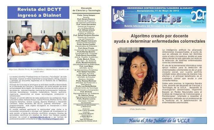 Revista del DCYT                                                         Decanato                             UNIVERSIDAD ...