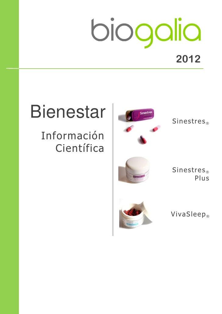 2012Bienestar        Sinestres® Información    Científica                 Sinestres®                       Plus           ...
