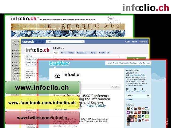 www.infoclio.ch www.facebook.com/infoclio.ch