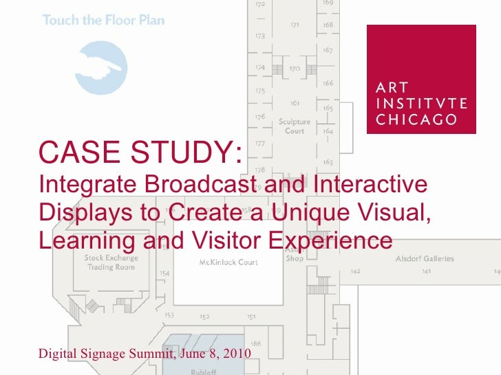 CASE STUDY:Integrate Broadcast and Interactive Displays to Create a Unique Visual, Learning and Visitor Experience<br />Di...