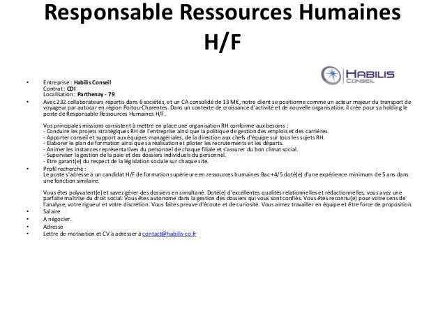 recherche lettre de motivation pour assistant ressources humaines