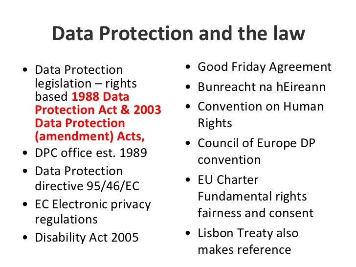 Reference data protection act essay