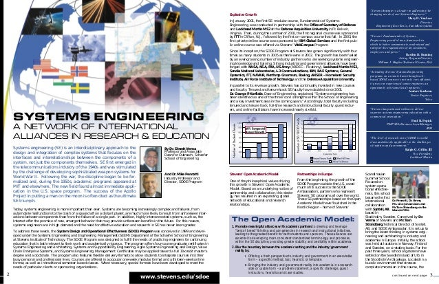 Explosive Growth In January 2001, the first SE modular course, Fundamentals of Systems Engineering, was conducted in partn...