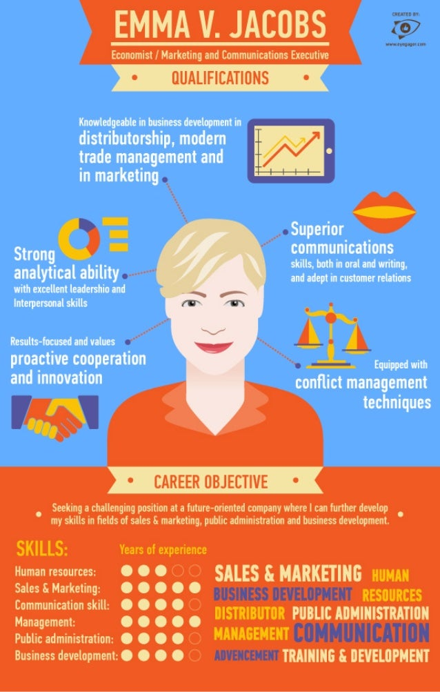 Infographic Cv By Eyegager Com