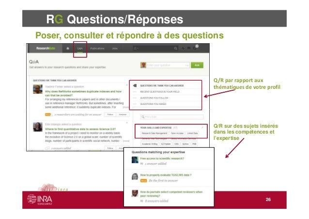 researchgate et les r u00e9seaux sociaux en recherche