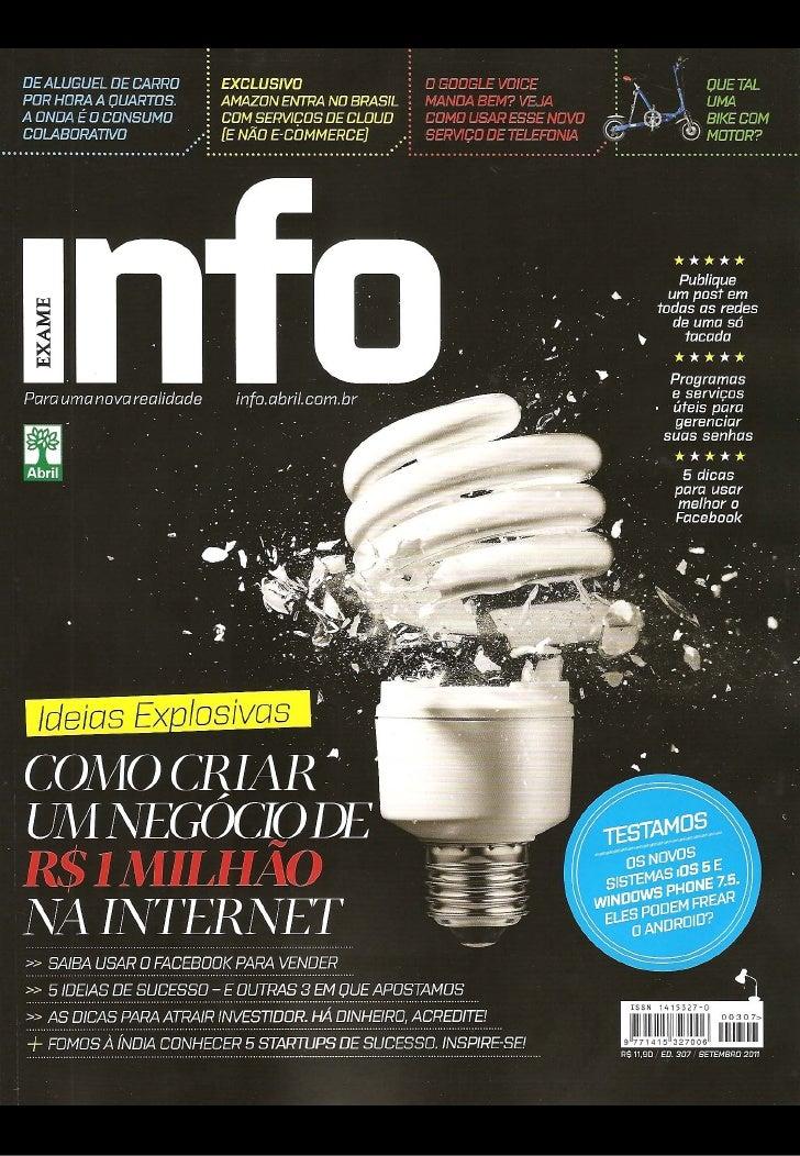 LikeStore é indicada pela INFO entre as 5 ideias de sucesso na web