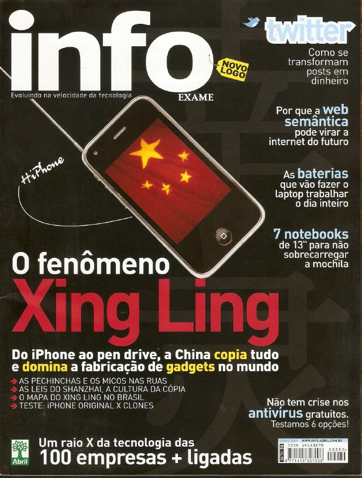 Info Exame O.Fenomeno.Xing.Ling.1
