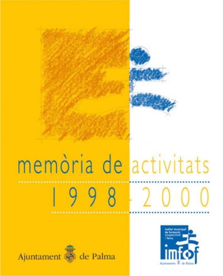 IMFOF | Memòria d'activitats