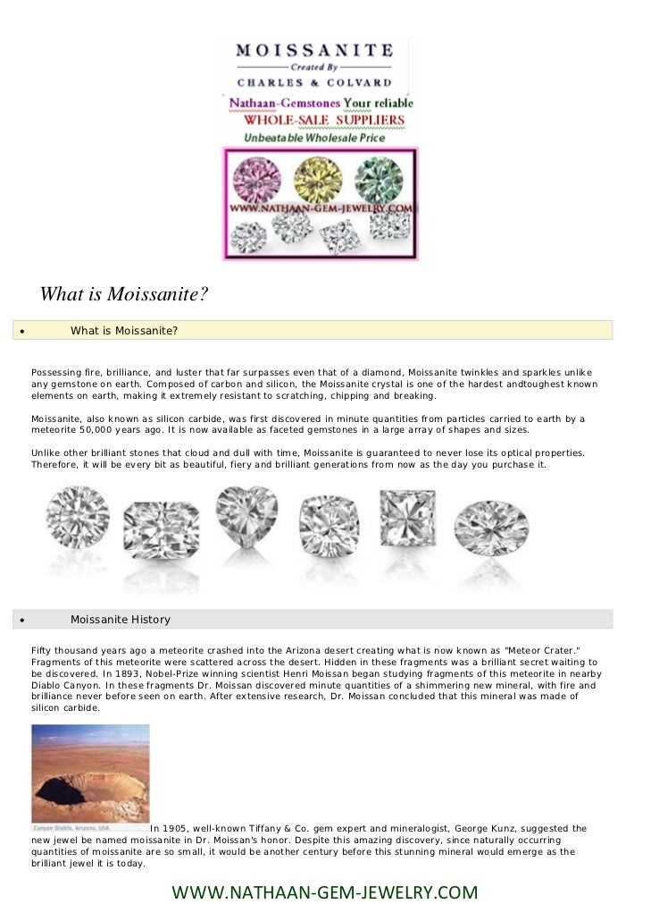 What is Moissanite?           What is Moissanite?    Possessing fire, brilliance, and luster that far surpasses even that...