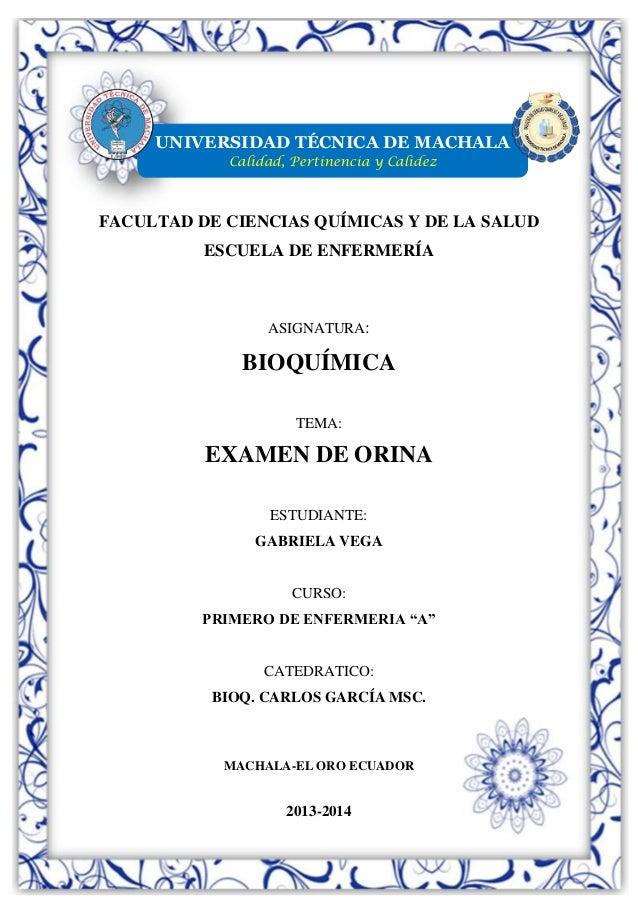 UNIVERSIDAD TÉCNICA DE MACHALA Calidad, Pertinencia y Calidez  FACULTAD DE CIENCIAS QUÍMICAS Y DE LA SALUD ESCUELA DE ENFE...