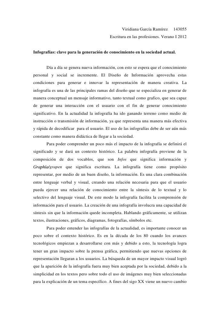 Viridiana García Ramírez    143055                                             Escritura en las profesiones. Verano I 2012...