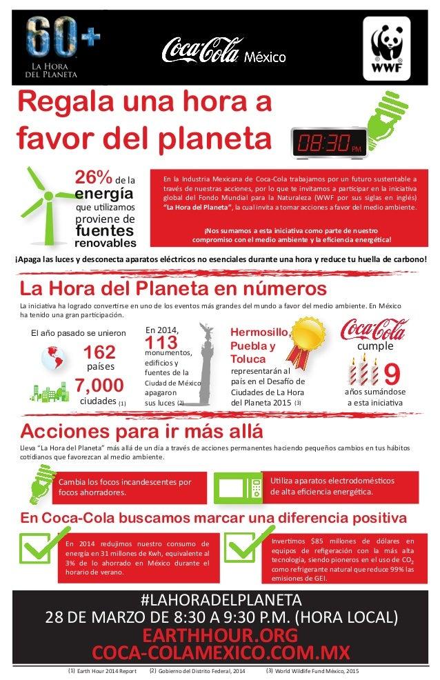 En la Industria Mexicana de Coca-Cola trabajamos por un futuro sustentable a través de nuestras acciones, por lo que te in...