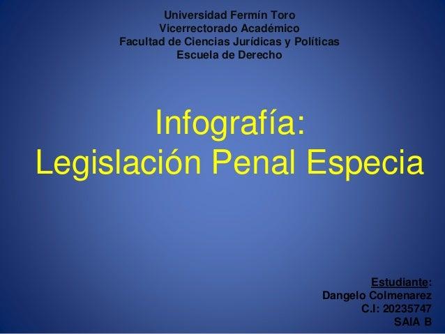 Universidad Fermín Toro Vicerrectorado Académico Facultad de Ciencias Jurídicas y Políticas Escuela de Derecho Infografía:...