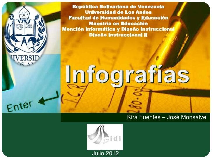 República Bolivariana de Venezuela        Universidad de Los Andes  Facultad de Humanidades y Educación          Maestría ...