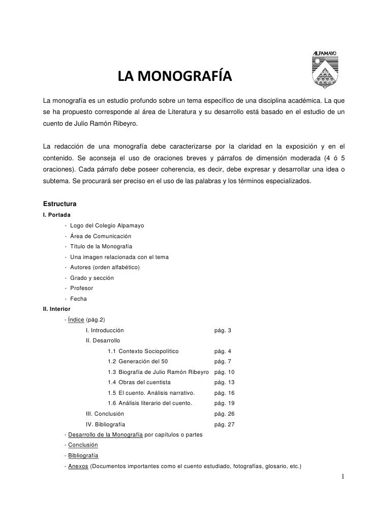 LA MONOGRAFÍALa monografía es un estudio profundo sobre un tema específico de una disciplina académica. La quese ha propue...