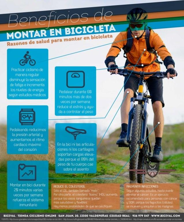 Practicar ciclismo de manera regular disminuge la sensacion de fatiga e incrementa los niueles de energía  segun estudios ...