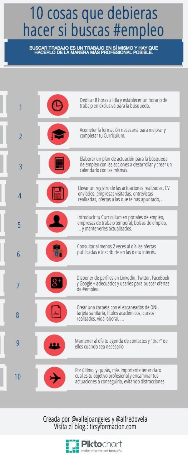 10 cosas que debieras hacer si buscas empleo