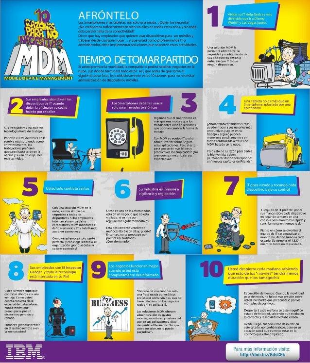 10 razones para no necesitar un Administrador de dispositivos móviles