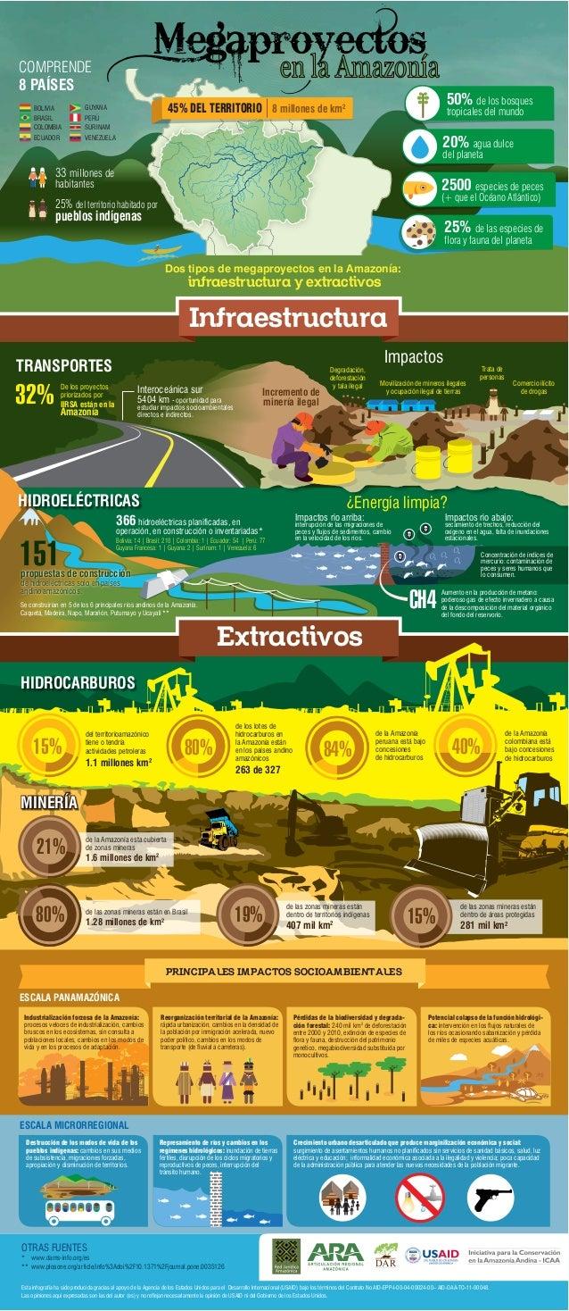 COMPRENDE 8 PAÍSES BOLIVIA BRASIL COLOMBIA ECUADOR  50% de los bosques  45% DEL TERRITORIO 8 millones de km2  GUYANA  VENE...